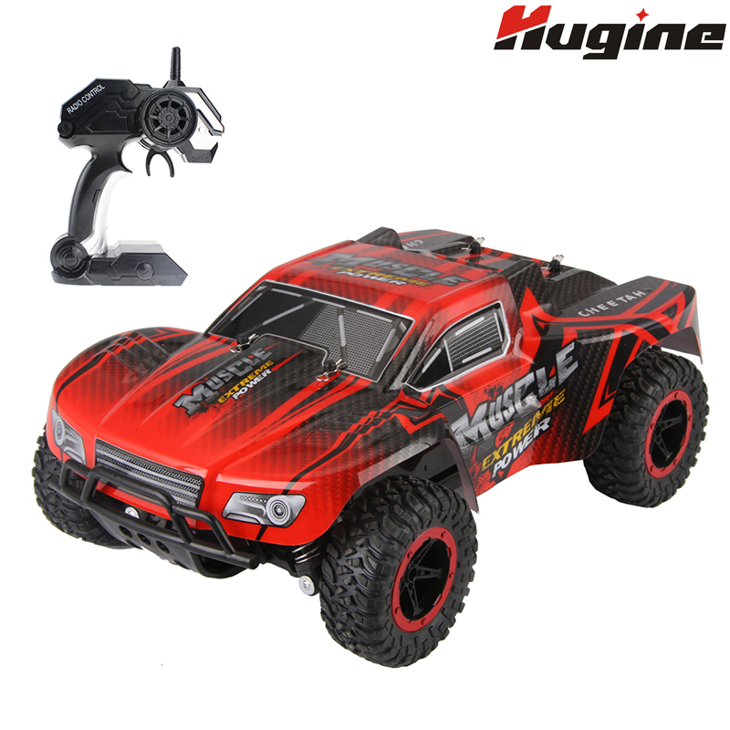 RC Cars Muscle Extreme Monster Truck 2 4G Remote Control Speed Racing Car 4 Wheel Independent