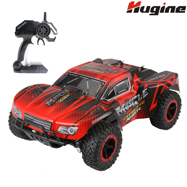 RC Cars Muscle Extreme Monster Truck 2.4G Remote Control Speed Racing Car 4 Wheel Independent
