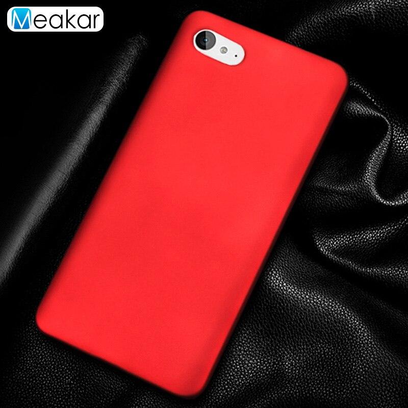 Matte Plastic Coque Cover 5.0For Zuk Z2 Case For Lenovo Zuk Z2 Plus Rio Edition Phone Back Coque Cover Case