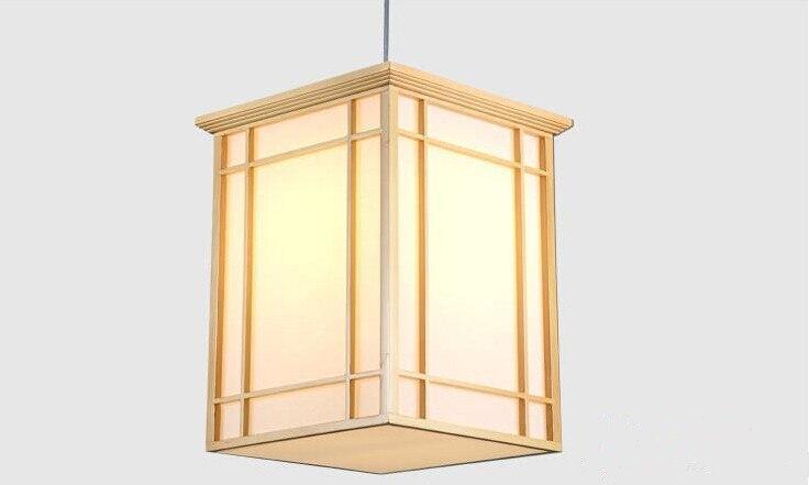 Japanski privjesak Svjetlo Kuhinja Washitsu Tatami Decor Privjesak - Unutarnja rasvjeta - Foto 2