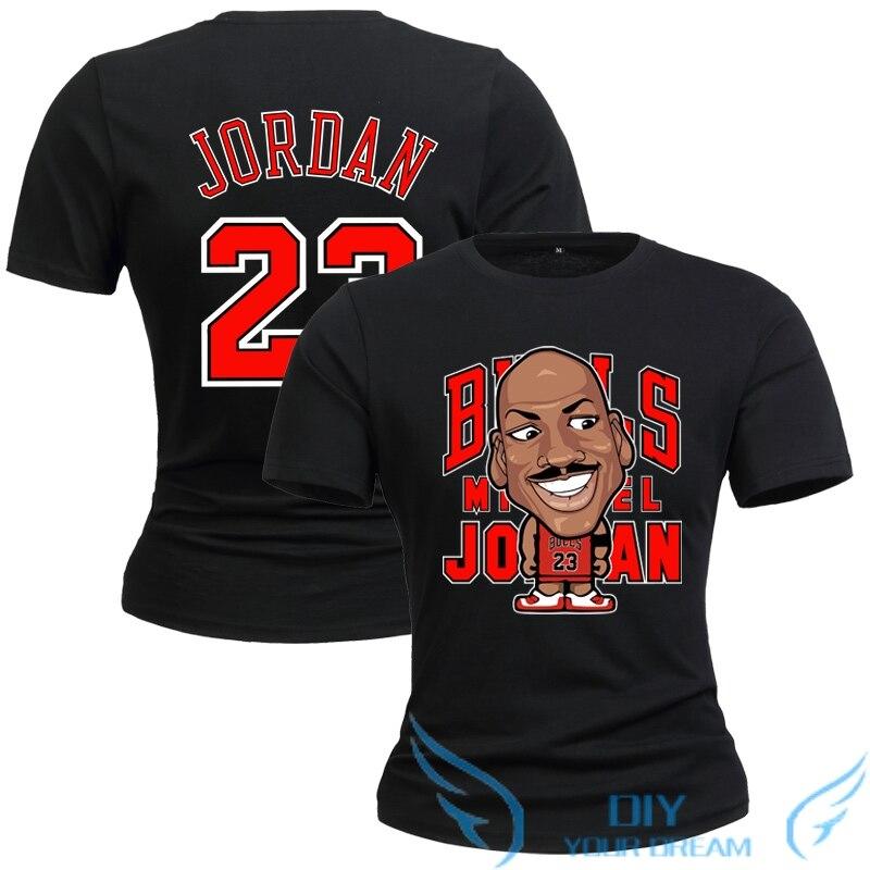 2e0f31e142d 2019 Men the Michael Jordan cartoon version T shirt funny Cotton Short  Sleeve Men's cool Printed T shirt Male-in T-Shirts from Men's Clothing on  ...