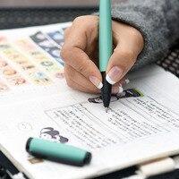 Mode KACO COBBLE Serie Metalen Rollerball/Teken Pen 8 Kleuren voor Kiezen 0.5mm Zwarte Inkt Student Gift Business Office Pennen