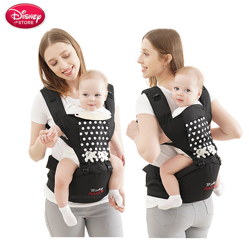 Disney Baby Carrier Infant Baby Sling Backpack Carrier Comfortable Multifunctional Pouch Wrap Baby Stuff Disney Accessories
