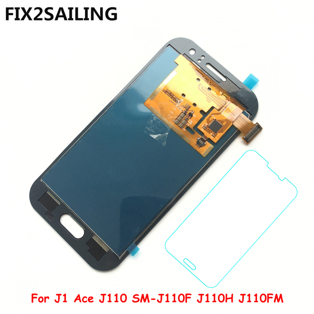 FIX2SAILING Super LCD Display 100% Touch Screen Assembly For Samsung Galaxy J1 Ace J110 SM-J110F J110H J110FM (Not Adjusted)