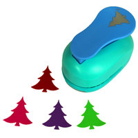 Free Ship Large 2 Christmas Tree Paper Punches For Scrapbooking Craft Perfurador Diy Puncher Paper Circle