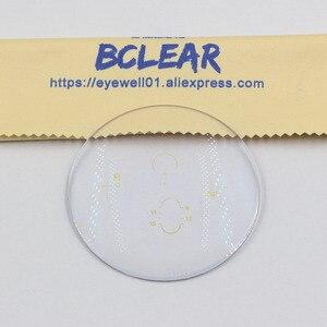 Image 3 - Óculos de lentes progressivas, lentes multifocais anti radiação de alto índice btransparente 1.74, lentes progressivas personalizadas em grau
