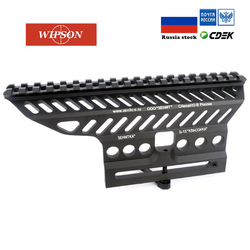 ويبسون الروسية ak AK47 74 47 B-13 الألومنيوم باستخدام الحاسب الآلي 20 مللي متر M47 qd الجانب السكك الحديدية ريد دوت نطاق قاعدة تثبيت Picatinny Cerakote الصيد