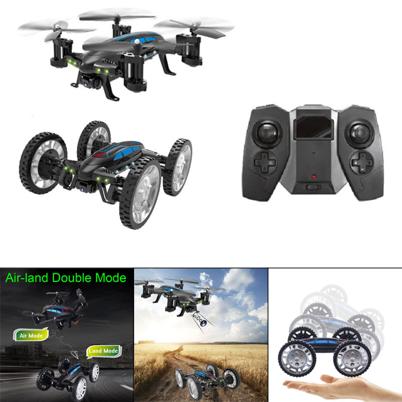 Mini Headless Drone Wifi Remote Control Racing Toy Sky Land Dual Use Outdoor Toy Drone Car 998Mini Headless Drone Wifi Remote Control Racing Toy Sky Land Dual Use Outdoor Toy Drone Car 998
