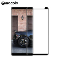 100 Original Mocolo For Samsung Galaxy Note 8 Full Cover 3D Arc Tempered Glass Screen Protector