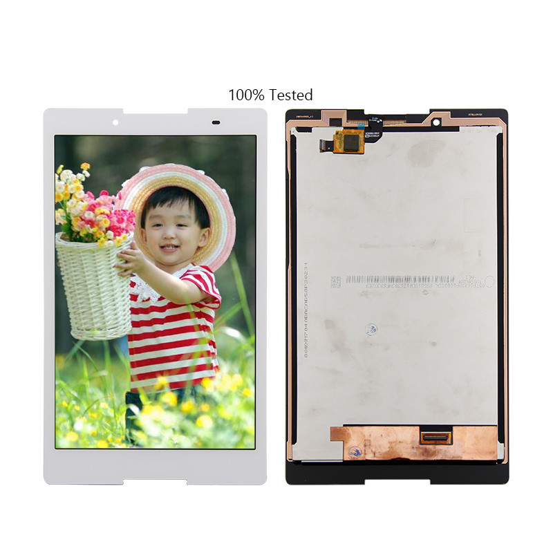 Free Shipping For Lenovo Tab 2 A8-50 A8-50L A8-50F Touch Screen Digitizer Glass Lcd Display assembly white Replacement texted black touch screen digitizer lcd display assembly for lenovo tab s8 50 s8 50f s8 50l s8 50lc free shipping
