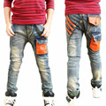 2016 New Kids Boys Jeans Pants Summer Autumn Fashion Designer Jeans Boy Denim Pants Casual Korean Jeans For Boys 3~12yrs