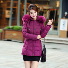 Women Down Coat Jacket Mother's Outwear 5XL Parka Winter Coat Women New Winter Collection best gift for mom black purple