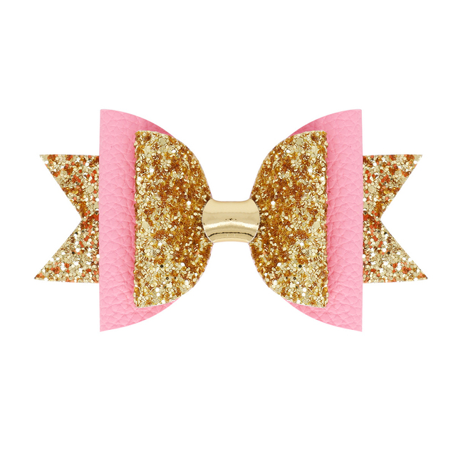 Girl's Glitter Hair Bow