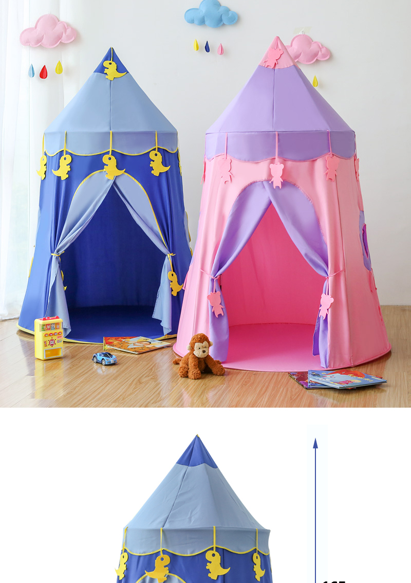 Akitoo Children'S Tent Indoor Girl Play House Boy Toy House Princess Room  Baby Castle Home Baby Yurt Gifts Indoor Kids Tents Play Tents For Older  Kids