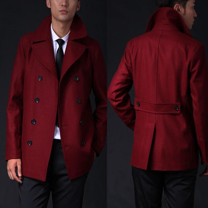Aliexpress.com : Buy Autumn winter men wool coat short design slim ...