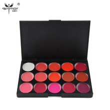 Fast Shipping High Quality 15 Colors Lip Gloss Palette Makeup Lipstick Palette Lipgloss Lips Lip Pigment Lip Palette