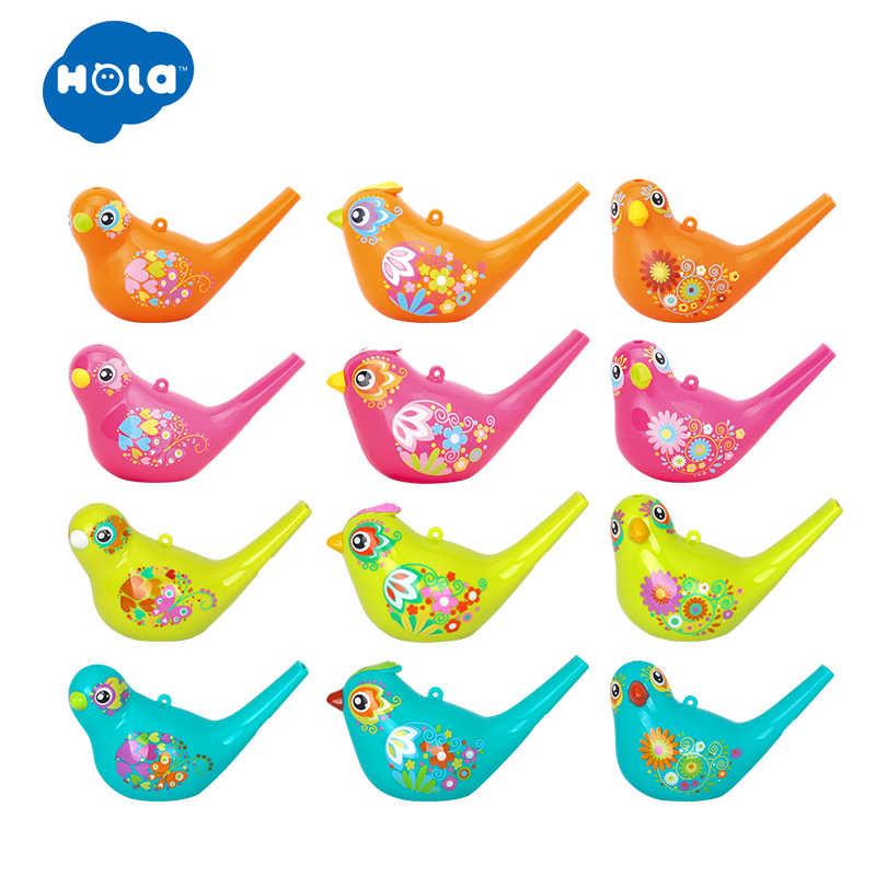 1PC カラフルな描画水鳥笛バスタイムのための音楽玩具子供アーリーラーニング教育おもちゃ子供クリスマスギフト