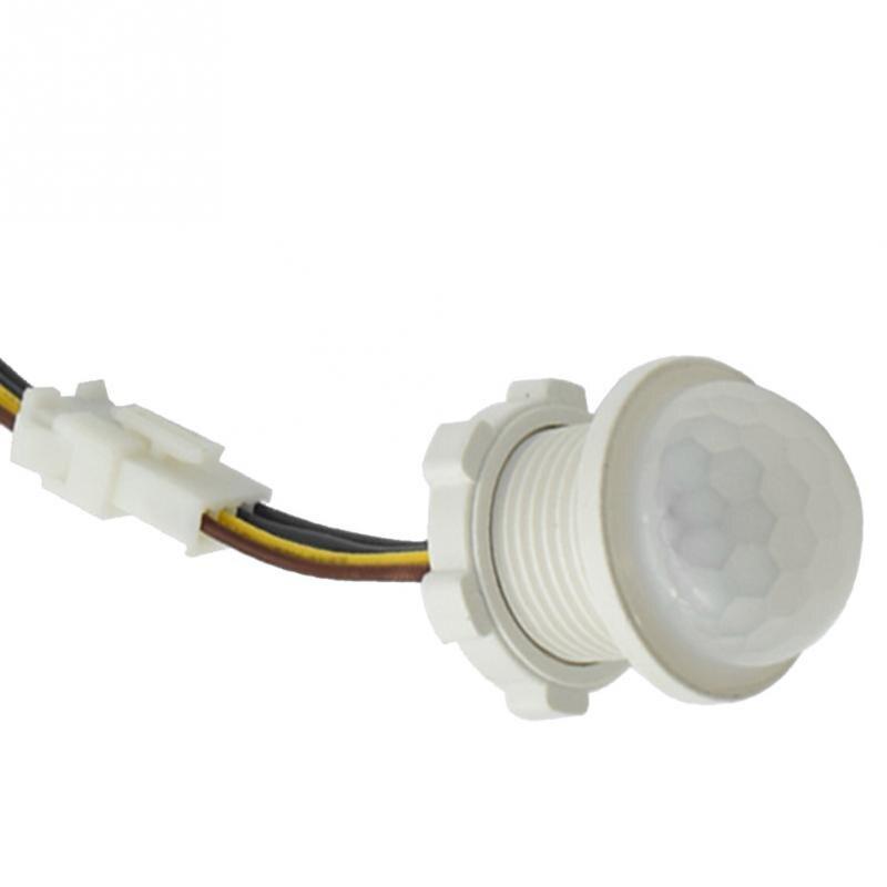 85-265 v hause indoor outdoor Infrarot Licht Motion Sensor Zeit Verzögerung Hause Beleuchtung PIR Schalter Led Empfindliche nacht lampe