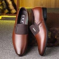 Leather Formal Shoes - Zapatos De Hombre De Vestir 5