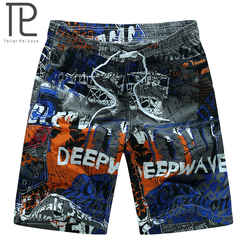 HOT Quick Dry Men   Shorts   Brand Beach   Short   Homme Bermuda Summer Men's Polo   Board     Shorts   Printed Mens Swimwear Hawaiian   Shorts