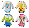 Autumn Baby Romper Long Sleeve Cotton Cartoon Baby Boy Girl Clothes Baby Wear Jumpsuits Clothing Set Body Suits