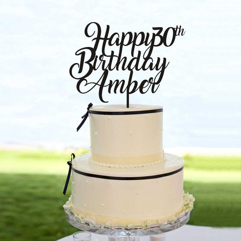 Custom Name Cake Topper 1 Custom Personalised Cake Topper glitter 1 2 3 4 5 Star