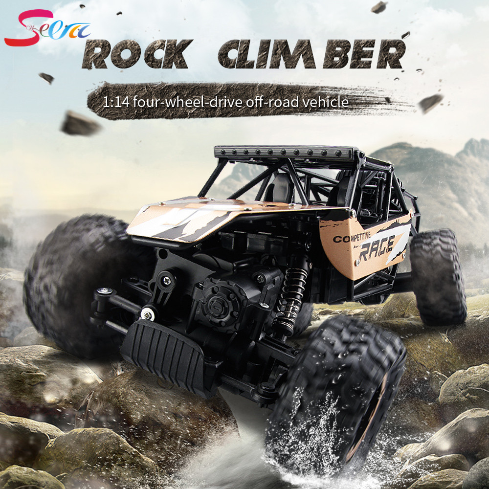 Retail Packag Original JJRC Q15 RC Car 2.4G 4CH 4WD Rock Crawlers 4x4 Driving Car 1:14 Remote Control Model Off-Road Vehicle Toy
