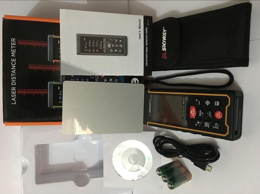 Laser Entfernungsmesser Usb : Sndway laser entfernung mete entfernungsmesser