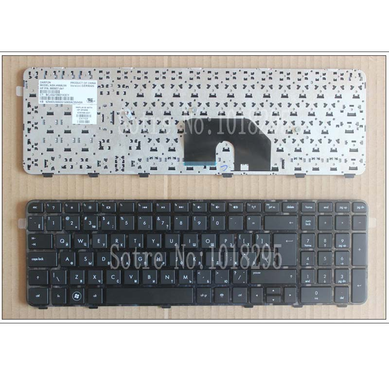 Russian RU  laptop Keyboard for HP Pavilion DV6 DV6T DV6-6000 DV6-6100 DV6-6200 DV6-6b00 dv6-6c00 Black NSK-HWOUS OR 665937-251 laptop keyboard for for sony vpc ya serials black silver frame ru russian