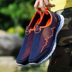MAISMODA летняя Уличная обувь для мужчин женщин легкая дышащая сетка крик пляжная быстросохнущая болотных восходящий Рыбалка чистая воды