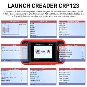 Image 2 - Creader CRP123 OBD2 เครื่องมือวินิจฉัยอัตโนมัติฟรี Update X431 crp123 ABS/SRS/เกียร์/เครื่องยนต์ creader CRP 123 OBD Coder Reader