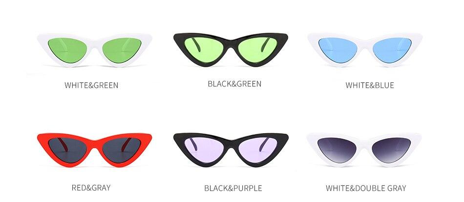 Evrfelan 2018 Novas Mulheres Da Moda óculos de Sol olho de Gato UV400  Eyewear Marca Designer Retro Óculos De Sol Feminino óculos de Sol 69538e89c5