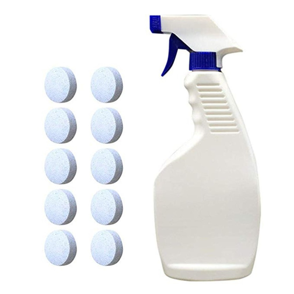 Multi-functional Effervescent Spray Cleaner Car Cleaning Watering Can Car Care Windshield Glass Cleaner(China)