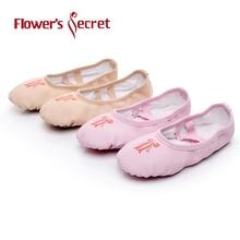 Blommans hemliga balettskor Dansskor Yoga Sneakers Barn Flickor Kvinnor Tofflor Enligt CM Köp