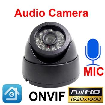 Ip Camera 1080P Audio Cctv Dome Video Surveillance 2MP Infrared Home Surveillance Onvif Night Vision Network Ipc Security Camera цена 2017