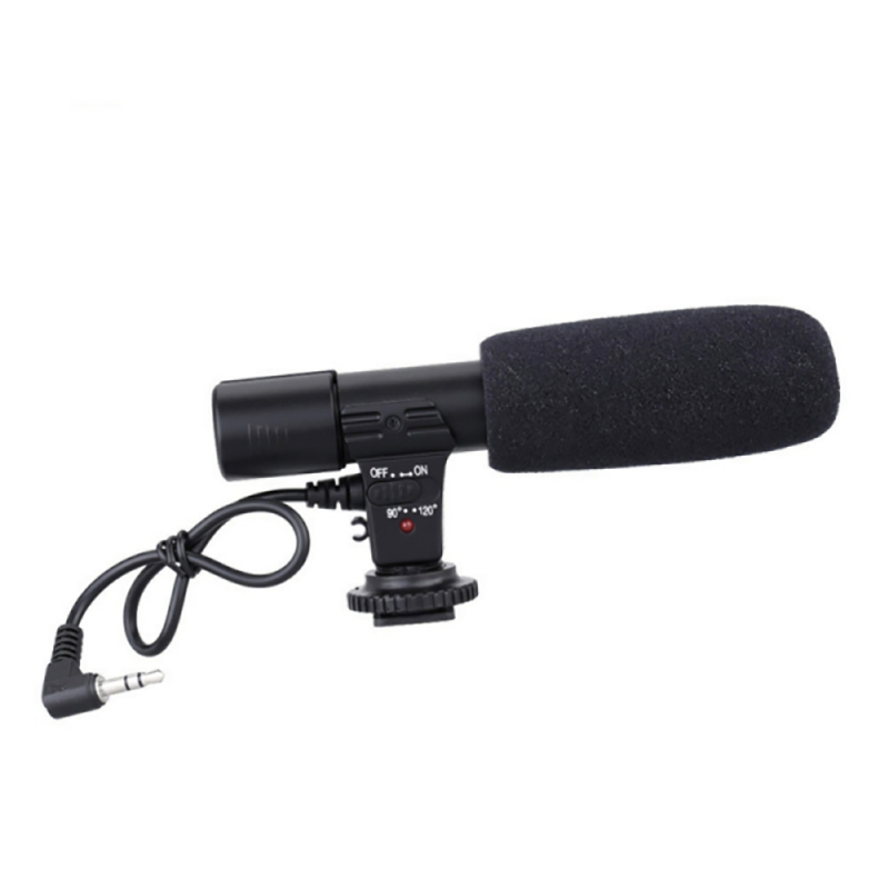 MIC-01Computer Condenser Microphone Wired Uni-directional Microphones For SLR Cameras DV Camcorder Projector Interview Recording