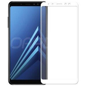 Image 3 - 9D verre de protection sur le pour Samsung Galaxy A3 A5 A7 2016 2017 A6 A8 Plus 2018 S7 étui de protection décran en verre trempé