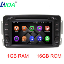 "Ljda 7 ""2DIN Android 7 dvd-плеер автомобиля для Mercedes-Benz CLK W209 W203 W168 W208 W463 Vaneo Viano vito GPS Навигация Авто Радио"