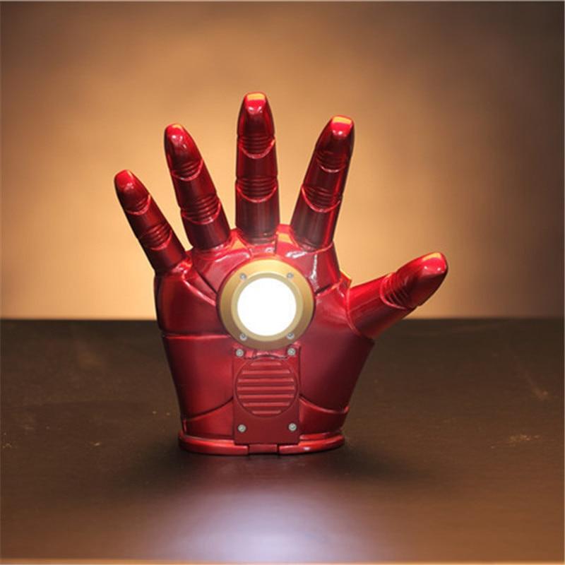 New 2018 Hot Toys Iron Man Diecast Mark XLII MK42 with LED Light Ironman Marvel