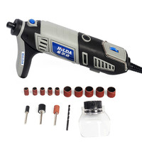 220V 180W Variable Speed Dremel Rotary Tool Electric Mini Drill with EU Plug Accessories