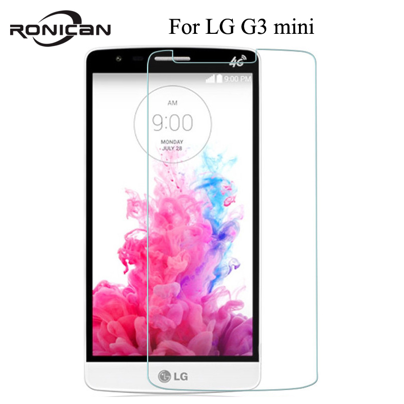 For LG G3 Mini G3mini G3S Beat D722 D725 D728 D724 Explosion-proof Tempered Glass Screen Protector 0.26MM 2.5D Protective Film