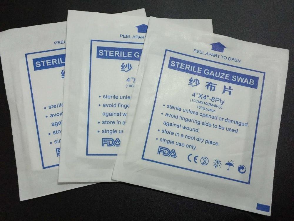 (10*10cm 8P,10pcs/lot)sterile gauze swabs/sterile gauze ...