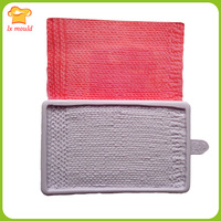 The Latest Version Of Knitting Lace Moulds Knitting Double Sugar Cake Decorationcake Decoration Knitting Clothes Mold