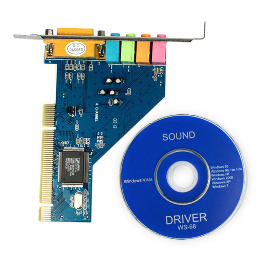 4 Channel C Media 3D Audio Internal PC PCI Sound Card for Windows XP Win7  32bit-in Sound Cards from Computer & Office on Aliexpress.com | Alibaba  Group