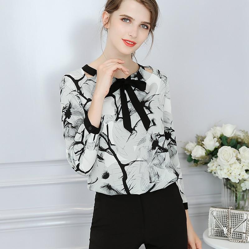Autumn 2018 Women Chiffon Blouse Short Sleeve Shirt Korean Fashion Slim Shirt Ruffles Women Clothes Streetwear Women Summer Tops