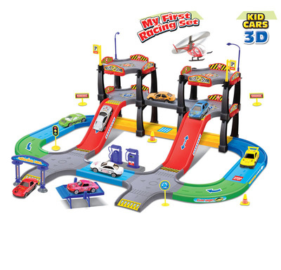 2015 New Building Cars Miniature Parking Toy Tomica Parking Lots Track Railroad kid Toy For Boys Novelty Birthday Gift Speelgoed tomica тротуар для трассы