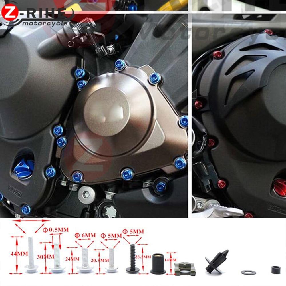 Motorkerékpár csavaros csavaros rögzítő rögzítés Yamaha mt-07 - Motorkerékpár tartozékok és alkatrészek - Fénykép 5