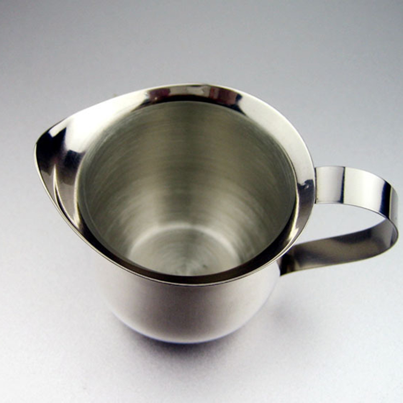 Stainless Steel Frothing Pitcher Latte Espresso Art Milk Coffee Tea Jug Cup For Drinking Organization Water Coffee Contanier