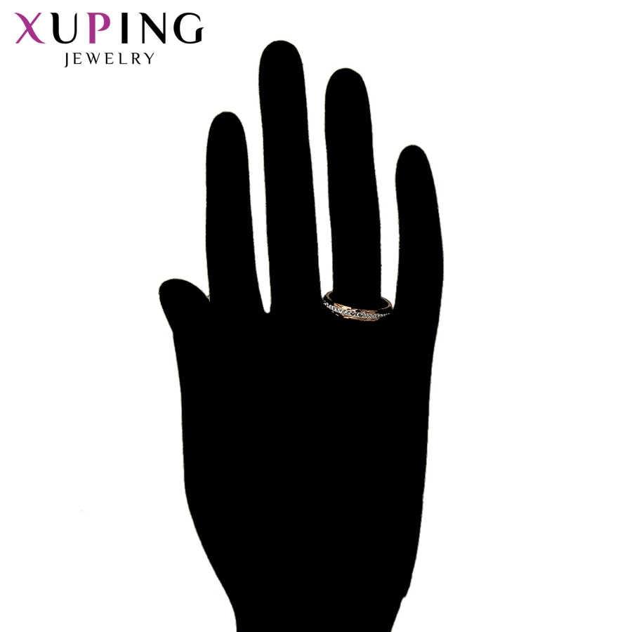 11,11 Angebote Xuping Ringe Frauen Edelstahl Schmuck Stilvolle Elegante Shinning Familie Party Mode Prime Geschenk S183.1-16156