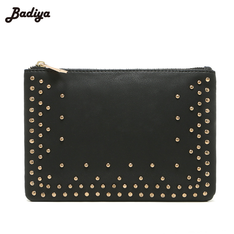 High Quality PU Leather Bag For Cell Phone Clutch Bag  New Women Clutch Bags Change Pockets Vintage Female Purse Pocket